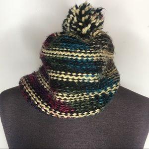 Multicolored Knit Cap